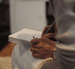 Notizen zur Therapie im Entscheidungshaus